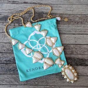 Kendra Scott White Havana Necklace